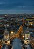 St.Paul's Golden Gallery (TimeTraveller37) Tags: london clock skyline architecture composition evening cityscape cathedral stpauls clocktower bttower bluehour stpaulschurch cityoflondon afterhours londonist londonlandmarks londonicons goldengallery architecturalicons architecturaleyecandy thesmithofderbyclock
