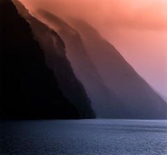 Ridges in Doubtful Sound (mharoldsewell) Tags: newzealand nikon photos nikkor 2009 2015 nikond80 lr5 mharoldsewell mikesewell