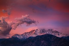 Two Years Waiting (EricGail_AdventureInFineArtPhotography) Tags: ericgail 21studios canon canon6d explore interesting interestingness photoshop lightroom nik software landscape nature infocus adjust california photo photographer ca cs6 picture adventureinfineartphotography mountbaldy sangabrielmountains sunset 70d mtbaldy