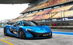 Race Ready. (Alex Penfold) Tags: mclaren p1 supercars supercar super car cars autos alex penfold 2016 china shanghai blue chinese
