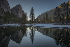 Still Water (J. Weed) Tags: nikon reflections water mountains tree yosemite park landscape