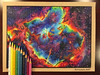 Heart Nebula Drawing (Kitslam's Art) Tags: drawing nebula pencilcolor pencilcolour art arts artist outerspace constellation colour color colorful colourful roygbiv rainbow cloud universe milky way milkyway galaxy galaxies amazing whoa colorpencil colourpencil prismacolor youtube speedart timelapse