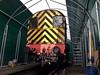 Undercover Gronk (Leeming Bar TMD) Tags: class08 gronk 08903 leemingbar wensleydale railway wilton