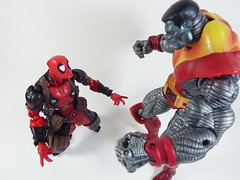 """I love you Colossus!"" (Matheus RFM) Tags: deadpool kaiyodo revoltech marvel colossus xmen"