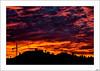 Cae la noche se levantan las siluetas (V- strom) Tags: nocturna anochecer ocaso otoño rojo negro nubes siluetas nikon nikon2470 nikon50mm naturaleza urbana texturas antenas