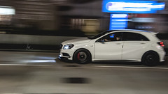 Mercedes-Benz A 45 AMG (Justin Young Photography) Tags: cars hongkong mercedesbenz a45 amg w176