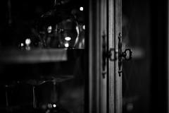 Glass behind glass... (erick.tessier) Tags: noiretblanc bw blackwhite black white d800 sigma art 85mm drummondville québec canada wine coupe poignée singhray beyondbokeh sigmaart art85mm art85 coupedevin bokeh photoquebec