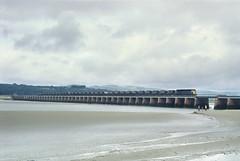 A Long-Gone Scene At Arnside. (neilh156) Tags: railway class47 arnsideviaduct arnside cumbriancoastline coaltrain mgr haa brblue railblue brushtype4 sulzer duff spoon
