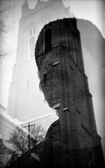 pentacon_flektogon750 (davidzakharov) Tags: doubleexposure caffenol holga135 holga ishootfilm film film4life blackandwhite monochrome 35mm
