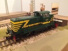 SNCB 8269 - Piko (Neil Sutton Photography) Tags: modelbouw modelspoor class82 serie82 8269 187 modeltrain modelrailway hoscale ho piko belgianrailways sncb