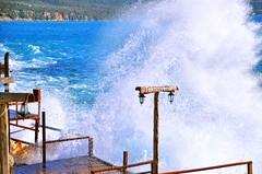 Son durum yine aynı dün gibi  The latest situation is still at sea storm  1✏#storm 2✏#dalga  3✏#fırtına  4✏ #asmaaltı 5✏#beach  6✏#deniz (teknisyenarif) Tags: deniz dalga asmaaltı storm beach fırtına