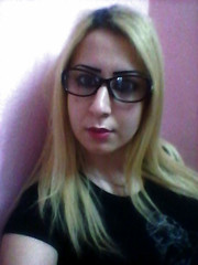 Bespectacled (~ Lone Wadi ~) Tags: libya libyan glasses bespectacled blonde lady indoors