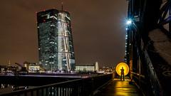 circle beam of light (Frank Siebach) Tags: ezb frankfurt am main langzeitbelichtung lightpainting