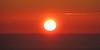 (Kelvin P. Coleman) Tags: canon powershot landsend sea water ocean haze hazy evening sky summer sunset halo ring circle round cloud cloudy bright red horizon outdoor