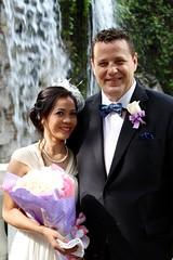 Hong Kong wedding (seasalteyes) Tags: flowers fountain wedding hongkong hongkongpark centralpark