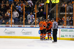 "Missouri Mavericks vs. Wichita Thunder, February 3, 2017, Silverstein Eye Centers Arena, Independence, Missouri.  Photo: John Howe / Howe Creative Photography • <a style=""font-size:0.8em;"" href=""http://www.flickr.com/photos/134016632@N02/32561329082/"" target=""_blank"">View on Flickr</a>"