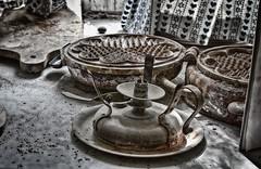 Waffel (Enri-Art) Tags: lostplace vergänglich verlassen irgendwo abandoned verfall