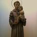 Lundi des Cendres, premier jour du Carême, avec Saint Antoine de Padoue et l'Enfant Jésus.