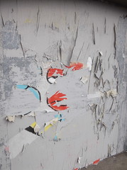 Remains of Homer (Minty Poster, As Was) (The Lens of Lucid Frenzy) Tags: art brighton graffiti streetart posters
