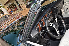 1971 Pontiac GTO (Chad Horwedel) Tags: green classic car illinois convertible pontiac gto pontiacgto downersgrove downersgrovecruisenights 1971pontiacgto
