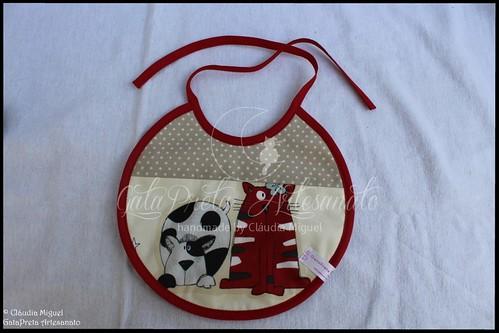 "Mala de maternidade, bolsa para fraldas e babete ""Furry Friends"""