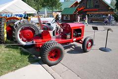 (theleakybrain) Tags: tractor minnesota september bullet toro mnstatefair 2015 p1350911 torobullet