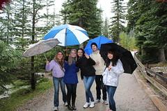 Rockies Classic Summer (Club ESL & Discover Canada Tours) Tags: canada alberta banff lakelouise columbiaicefields morainelake bowlake yohonationalpark blueriver snocoach glacierexperience clubesl