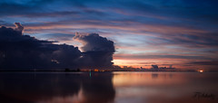 Predawn Colors (Tedj1939) Tags: morning sky sun nature clouds sunrise river dawn seascapes predawn indianriver