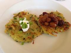 Jackson's, Pensacola FL (Deep Fried Kudzu) Tags: florida supper rosh pensacola hashanah jacksons latkes