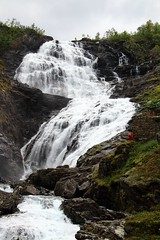 Kjosfossen (Anja van Zijl) Tags: nature norway norge waterfall wasserfall natur norwegen flm flam noorwegen waterval kjosfossen huldra flambahn flmsbahn huldrene
