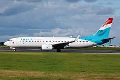LX-LBA Boeing 737-800 Dublin Airport 12th September 2015 (_Illusion450_) Tags: dublin airplane airport aircraft aviation air aeroplane airline boeing airlines aeroport avion airfield dublinairport luxair 737800 boeing737800 aeronautical b737800 738 b738 eidw 120915 12092015 lxlba