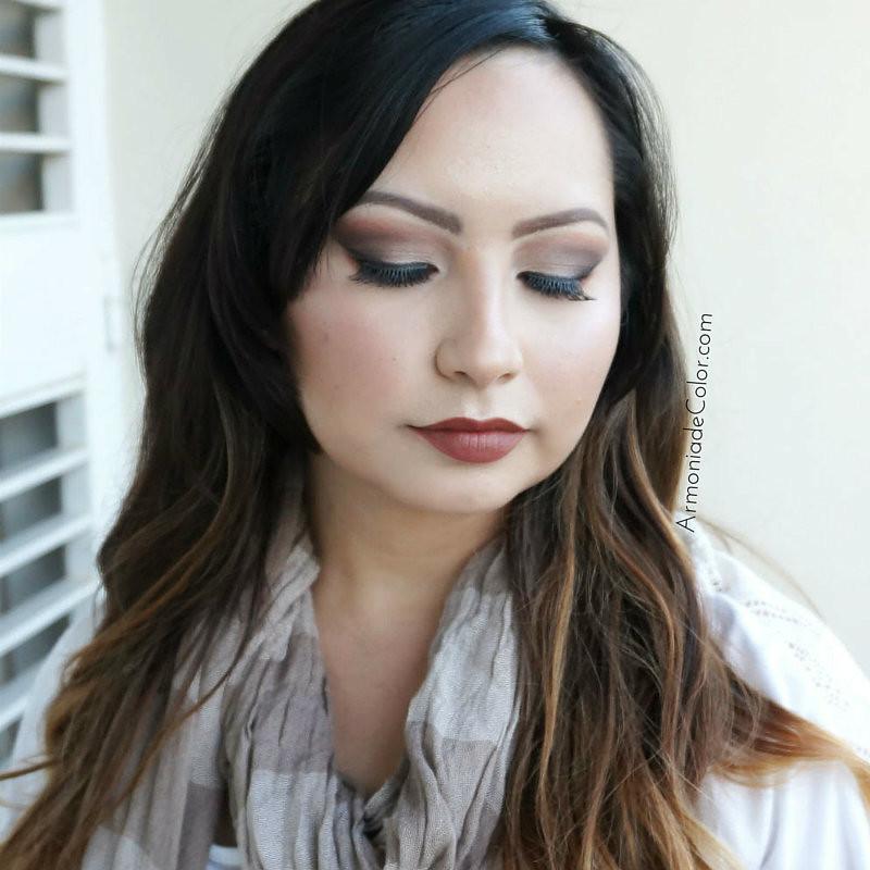Maquillaje marron 1