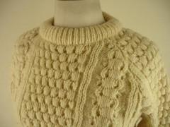Womens heavy aran wool sweater (Mytwist) Tags: heritage wool fashion modern fetish neck sweater craft style crew passion knitted aran timeless pullover crewneck pulli webfound aransweater mytwist aranjumper aranstyle starcitytraders