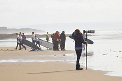 (livin the dream*) Tags: autumn sea water sport southwales wales nikon surf waves surfer coastal surfboard wfc wetsuits restbay welshflickrcymru
