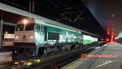 Herbicida UIC en Zamora (Luis Cortés Zacarías) Tags: tren noche ave uic zamora estación ferrocarril renfe adif herbicida