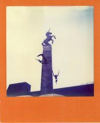 UNICORN - Scotland Polaroid #2 (Violhaine Larsen) Tags: color film project polaroid sx70 scotland stirling frame instant unicorn larsen pola impossible licorne ecosse instantan instantfilm filmisnotdead violhaine eyelarsen
