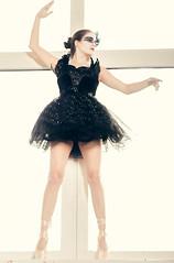Black Swan (Tobi W I Fotografie) Tags: black girl dance swan tanz wife blackswan balett