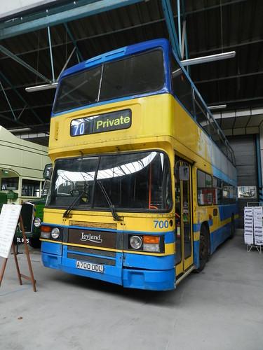 A700DDL 700 Solent Blue Line Leyland Olympian