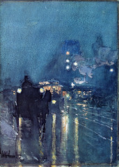 hassam_nocturne_railway_crossing_chicago_1893 (Art Gallery ErgsArt) Tags: museum painting studio poster artwork gallery artgallery fineart paintings galleries virtual artists artmuseum oilpaintings pictureoftheday masterpiece artworks arthistory artexhibition oiloncanvas famousart canvaspainting galleryofart famousartists artmovement virtualgallery paintingsanddrawings bestoftheday artworkspaintings popularpainters paintingsofpaintings aboutpaintings famouspaintingartists