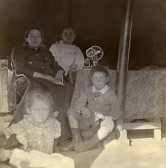 The Bartmann family, Pietermaritzburg, c.1901.