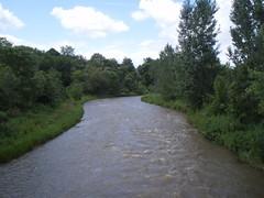 credit river 1 (spiv piddler) Tags: canada streetsville creditriver