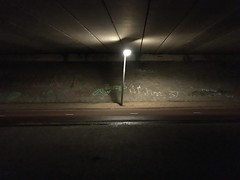 Groningen bij Nacht (ritzotencate) Tags: nacht groningen reitdiep jaagpad veilig050