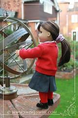 School uniform for Grace (Swish and Swirl) Tags: grace americangirl