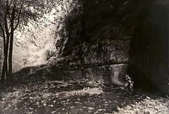 Burgruine Lwenstein (Guenther Wilhelm) Tags: ruine infrared pfalz lithprint elsass burg burgruine infrarot pflzerwald felsburg