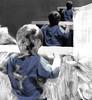 Spiegel (Ekatharina) Tags: film handy foto display fenster spiegel menschen beamer blick acryl personen erinnerung szene beobachten schwarm wahrnehmung gedanken ebenen anschauen
