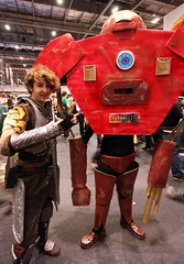 Me and hulkbuster (G3org3 Whit3h3ad) Tags: cosplay ironman marvel nord skyrim