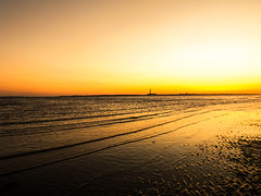Solent haze (martynmulligan) Tags: england coast dusk solent hook southampton waterscape meon brownwich