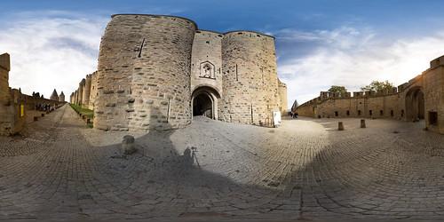 Porte narbonnaise - Cité de Cracassonne