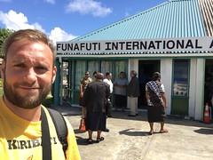 Funafuti airport, Tuvalu!