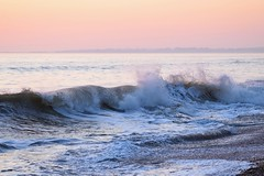 Winter sun (beachaddictphotography) Tags: dorset highcliffe beach surf waves nikon sunset coast rocks cold winter spray sun water wave outdoor ocean sea